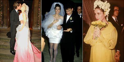 scandalous wedding dresses   time
