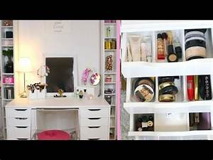 Dressing Petit Espace : lufy rangement makeup sp cial petit espace youtube ~ Teatrodelosmanantiales.com Idées de Décoration