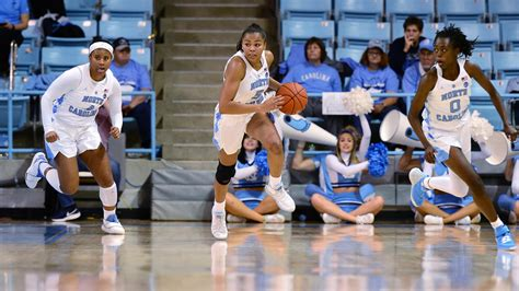 stephanie watts scores  points  lead unc womens