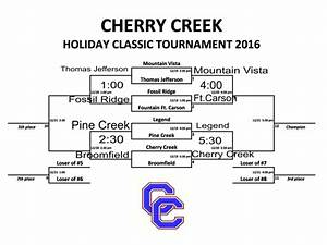 Updated Day 2 Schedule for Cherry Creek Holiday Classic ...