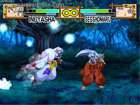 inuyasha anime juego inuyasha a feudal tale usa psx sony