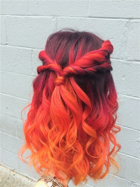 awesome balayage red hair ideas