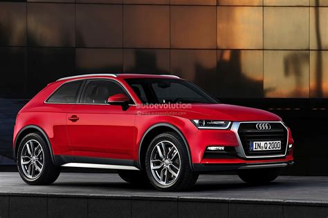 Audi Q2 Rendering Released, Debut Expected In 2015