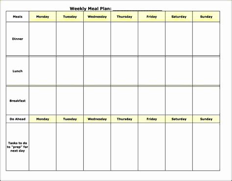 daily meal planner template sampletemplatess