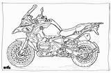 Bmw Moto Coloriage Coloring Motorcycle Colouring Adult R1200gs Motor Motos Bike Motorcycles Colorir Motocicletas Xj6 Cycle Malvorlagen Motorrad Ducati Colorier sketch template