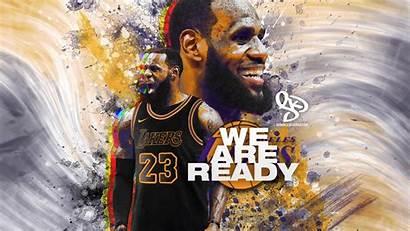 Lebron Lakers James Desktop Wallpapers Iphone Nba