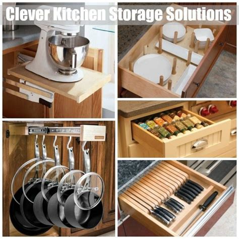 Kitchen Storage Solutions  Sawdust Girl®