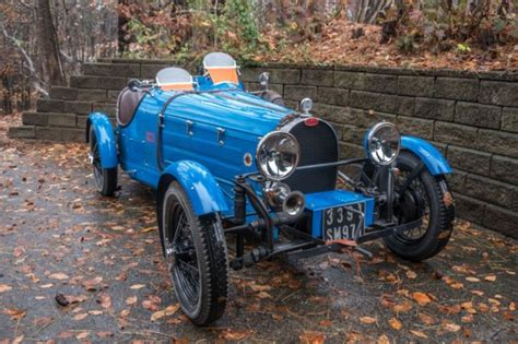 I have owned this vehicle for 17 years, nd have truly enjoyed it, ut due to health reasons i can no longer drive.most outstanding feature is the. 1927 Bugatti Type 35 Replica Kit Car 35B / 37A - Like Jaguar MG Mercedes Morgan - Classic 1927 ...