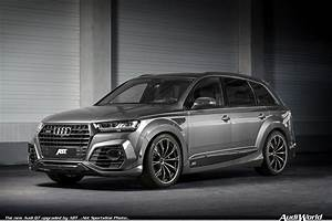 The New Audi Q7 Upgraded By Abt