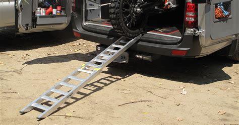 fly runway folding loading ramp dirt bike test