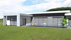 Maison En L Moderne : maison moderne 140m2 ~ Melissatoandfro.com Idées de Décoration