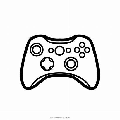 Coloring Controller Desenho Videogame Colorir Colorare Videogiochi