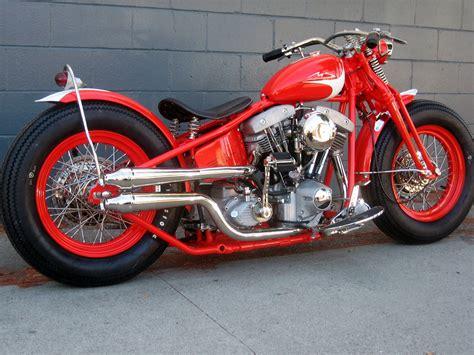 Custom Built Harley-davidson