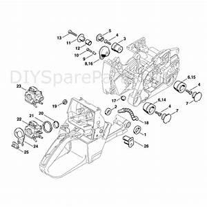 Stihl Ms 460 Chainsaw  Ms460 Wvh  Parts Diagram  Av System