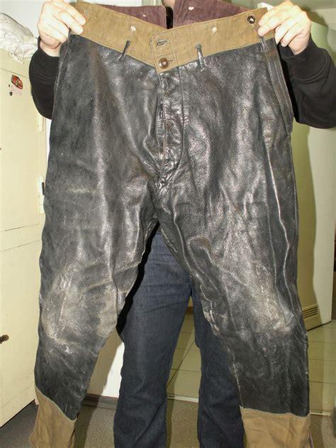soviet ww tank crew uniform leather