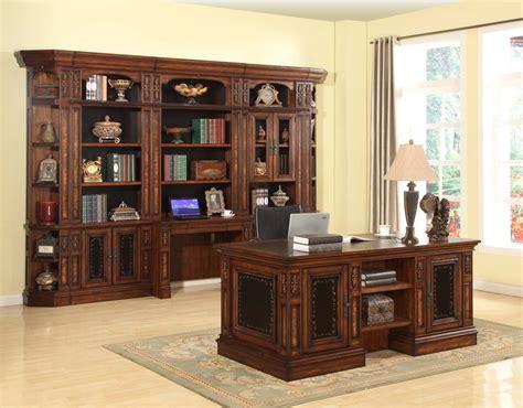 Parker House Leonardo Library Wall Unit Bookcase Set 6 Ph