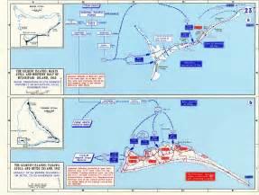 World War 2 Pacific Battle Island Map