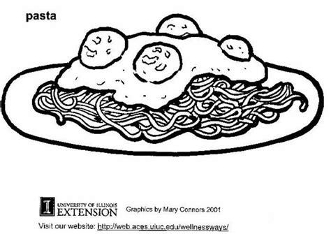Kleurplaat Spaghetti Eten by Kleurplaat Pasta Afb 5875 Images