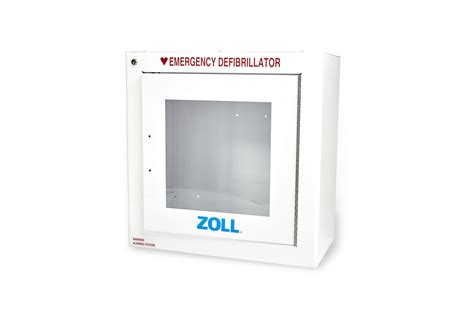 Standard Metal Wall Cabinet W/ZOLL Logo - AED Plus - AEDs ...