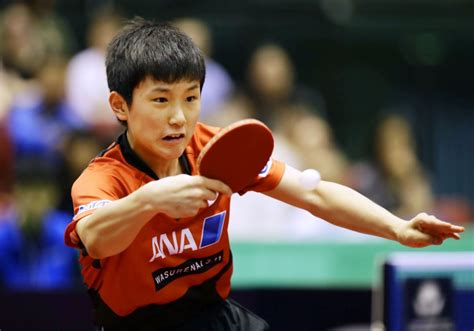 table tennis harimoto beaten  japan open qualifier