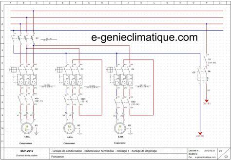 schema electrique chambre froid15 le 2éme montage partie 2 sché électriques froid