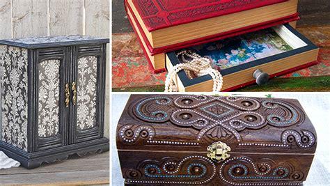 unique handmade jewelry box designs  elegant jewelry