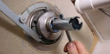 removing a kitchen faucet how to remove and install a kitchen sink strainer today