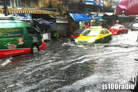 Heavy Rain In Bangkok And Central Thailand Until Next Week