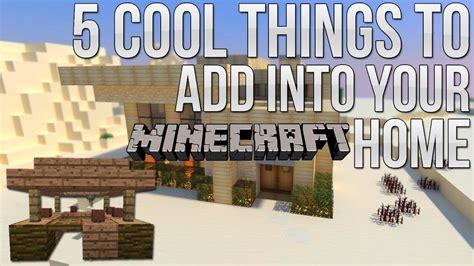 minecraft  cool   add   housebase ep youtube