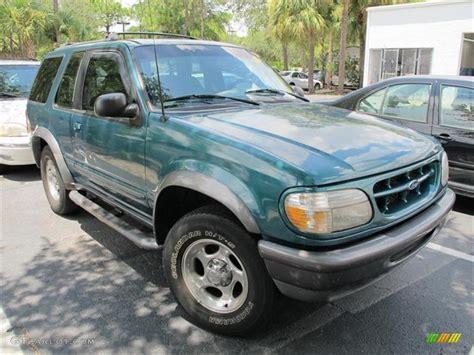 1998 Pacific Green Metallic Ford Explorer Sport 4x4
