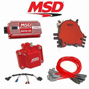 Msd 9031 Ignition Kit Digital 6al  Distributor  Wires 95