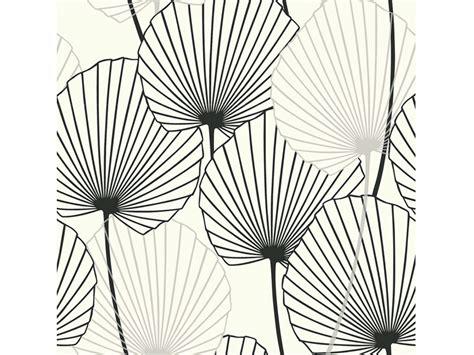 papier peint lessivable cuisine papier peint 100 intissé motif feuille de palmier noir