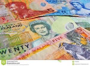 New Zealand Money Dollar