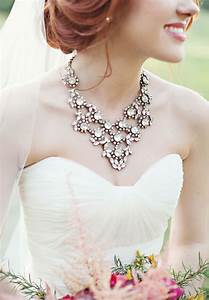 23 fabulous statement necklaces for the bride mon cheri With wedding dress necklace