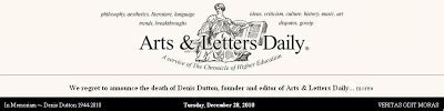 arts and letters daily the network december 2010 29481