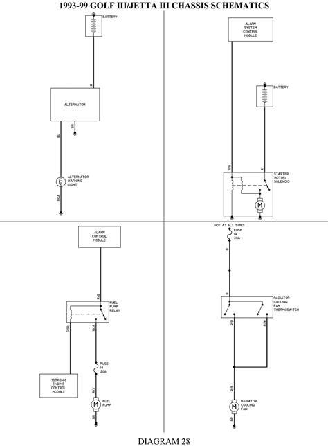98 Vw Jettum Wiring Diagram by 98 Volkswagen Jetta Gls The Ac And Cruise Wiring Diagram
