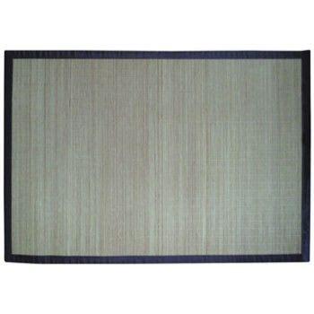 tapis bambou naturel  cm leroy merlin idees