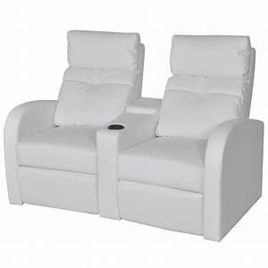 Kunstleder Sofa 2 Sitzer : der kunstleder heimkino sessel relaxsessel sofa 2 sitzer wei online shop ~ Bigdaddyawards.com Haus und Dekorationen