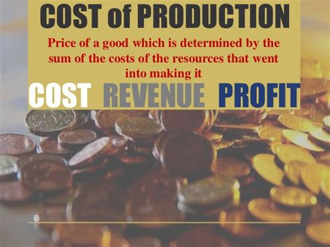 cost  production