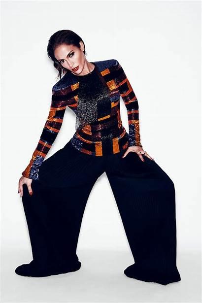 Lopez Jennifer Balmain Rousteing Olivier Magazine Shoot