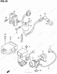 Suzuki Atv 1999 Oem Parts Diagram For Electrical