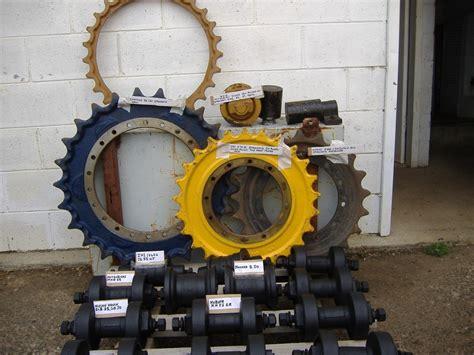 mini excavator track parts rollers sprockets ect  sale trade earthmovers australia
