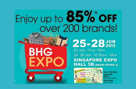 bhg exclusive offers bhg expo sale up to 85 off 25 28 jun 2015 moneydigest sg