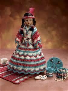 Free Crochet Indian Doll Dress Patterns