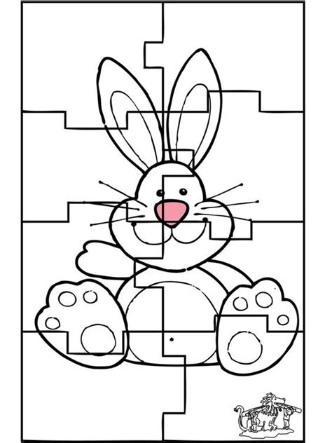 easter bunny tons  cute printable coloring  activity