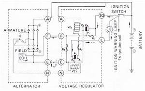 External Voltage Regulator Wiring Diagram 4 Cyl Datson