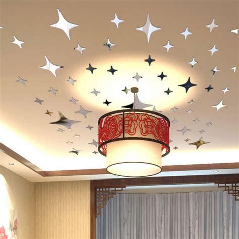wall decor 2015 2015 43pcs twinkle ceiling decor reflective