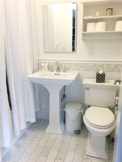Most Beautiful Small Bathrooms by Bathroom Like A Manhattan Studio Nyc Five Pillars