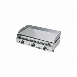 Plancha Gaz Chrome Dur : plancha gaz 800x500 chrome dur ~ Premium-room.com Idées de Décoration