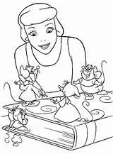 Coloring Cinderella Disney Popular Template Coloringhome sketch template
